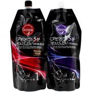 Bosnic Безаммиачная натурально-коричневая крем-краска для волос «5-минутное окрашивание» + активатор Speed 5 Intension Color Cream (2 х 500 мл)