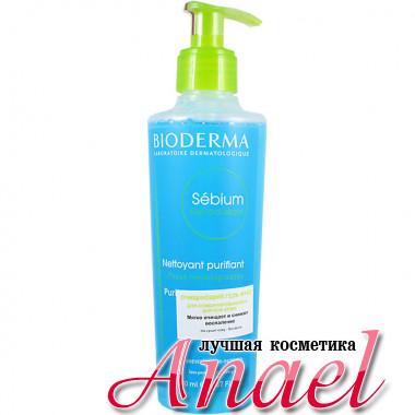 Bioderma Очищающий гель-мусс Себиум для комбинированной и жирной кожи Sebium Gel Moussant (200 мл)