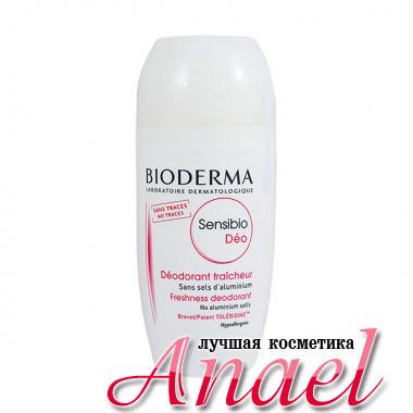 Bioderma Гипоаллергенный шариковый дезодорант без солей алюминия Сенсибио Део Sensibio Deo Freshness Deodorant (50 мл)