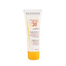 Bioderma Солнцезащитный матирующий флюид Фотодерм с SPF30+ для жирной и проблемной кожи Photoderm AKN Mat (40 мл)
