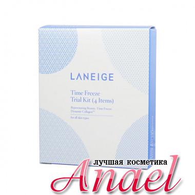 Laneige Набор миниатюр «Застывшее время» для интенсивного антивозрастного ухода за кожей лица Time Freeze Trial Kit (4 предмета)