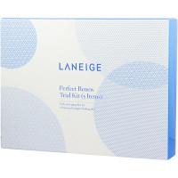 Laneige Набор миниатюр восстанавливающих увлажняющих средств для ухода за кожей с первыми признаками старения «Превосходное обновление» Perfect Renew Trial Kit (5 предметов)