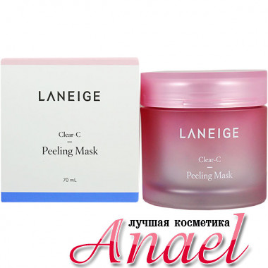Laneige Кремовая маска-пилинг с AHA кислотами для лица Clear-C Peeling Mask (70 мл)