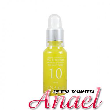 It's Skin Осветляющая увлажняющая сыворотка с витамином C и экстрактом зеленого чая Power 10 Formula VC Effector (30 мл)