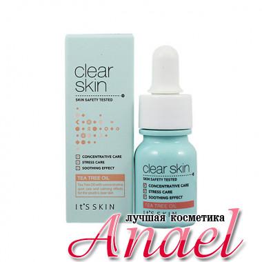 It's Skin Концентрированное средство с маслом чайного дерева для проблемной кожи «Чистая кожа» Clear Skin Tea Tree Oil (10 мл)
