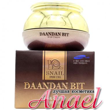 Skinine Daandan Bit Крем премиум-класса с муцином улитки и фитостволовыми клетками для лица Premium Snail Stem Cell Cream (50 гр)