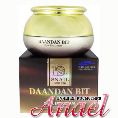 Skinine Daandan Bit Крем премиум-класса с муцином улитки и фитостволовыми клетками для контура глаз Premium Snail Stem Cell Eye Cream (50 гр)