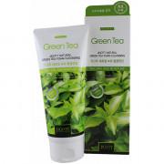 Skinine Jigott Пенка для умывания с  экстрактом зеленого чая для глубокого очищения пор Natural Green Tea Foam Cleansing (180 мл)