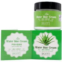 Skinine Jigott Увлажняющий крем с экстрактом алоэ для лица Aloe Water Blue Cream (70 мл)