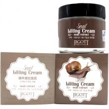 Skinine Jigott Лифтинговый крем с улиточным муцином для лица Snail Lifting Cream (70 мл)