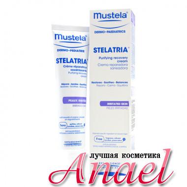 Mustela Локальный восстанавливающий успокаивающий крем-эмульсия для лица и тела Purifing Recovery Cream (40 мл)