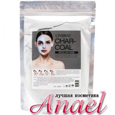 Lindsay Моделирующая альгинатная маска для лица «Уголь» Char-Coal Modeling Mask (240 гр)