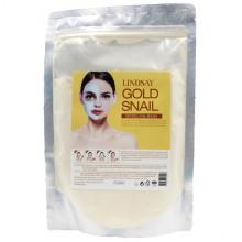 Lindsay Моделирующая альгинатная маска Gold Snail  Modeling Mask (240 гр)