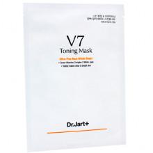 Dr. Jart+ Отбеливающая тканевая маска с комплексом витаминов V7 Toning Mask Ultra-Fine Real White Sheet (1 шт)