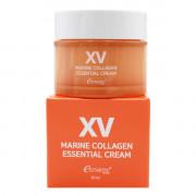 Esthetic House Интенсивный антивозрастной крем с морским коллагеном для лица XV Marine Collagen Essential Cream (50 мл)