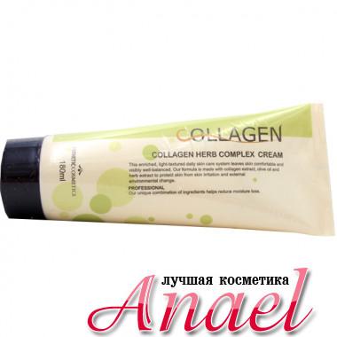 Esthetic House Крем с коллагеном и растительным комплексом для лица Collagen Herb Complex Cream (180 мл)
