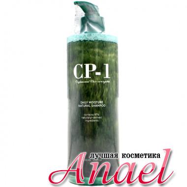 Esthetic House Бессульфатный натуральный увлажняющий шампунь CP-1 Daily Moisture Natural Shampoo (500 мл)