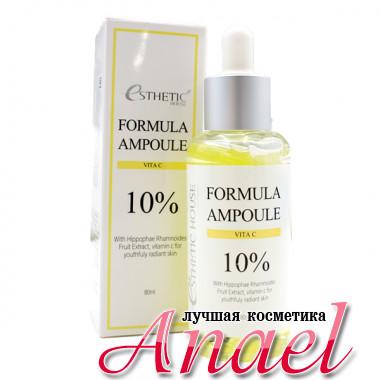 Esthetic House Ампульная витаминная сыворотка с 10% экстрактом облепихи Formula Ampoule Vita C 10% (80 мл)