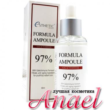 Esthetic House Ампульная сыворотка с 97% содержанием грибка галактомисис Formula Ampoule 97% Galactomyces (80 мл)