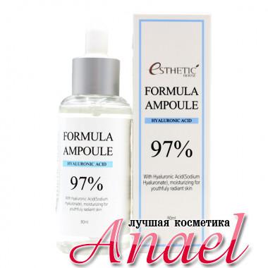 Esthetic House Сыворотка c 97% гиалуроновой кислоты для лица Formula Ampoule Hyaluronic Acid (80 мл)
