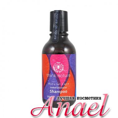 Think Nature Натуральный бессульфатный шампунь «Сладкое цветение» Sweet Blossom Natural Care Shampoo (100 мл)