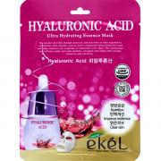 Ekel Ультраувлажняющая тканевая маска с гиалуроновой кислотой Hyaluronic Acid Ultra Hydrating Essence Mask (1 шт x 25 мл)