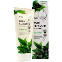 Ekel Пенка для умывания «Зеленый чай» Green Tea Foam Cleanser (180 мл)