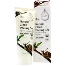 Ekel Пилинг-гель (скатка) «Натуральная чистота» с муцином черной улитки Black Snail Natural Clean Peeling Gel (180 мл)