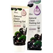 Ekel Пилинг-гель (скатка) «Природная чистота » с экстрактом ягод асаи Acai Berry Natural Clean Peeling Gel (180 мл)