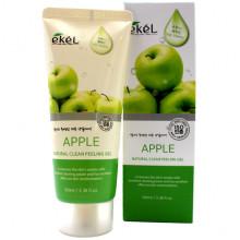 Ekel Пилинг-гель (скатка) «Натуральная чистота» с экстрактом яблока Apple Natural Clean Peeling Gel (100 мл)