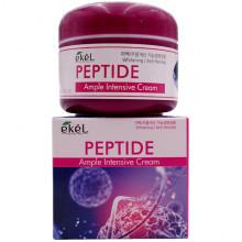 Ekel Интенсивный осветляющий ампульный крем с пептидами для лица против морщин Peptide Ample Intensive Cream Whitening / Anti-Wrinkle (100 гр)