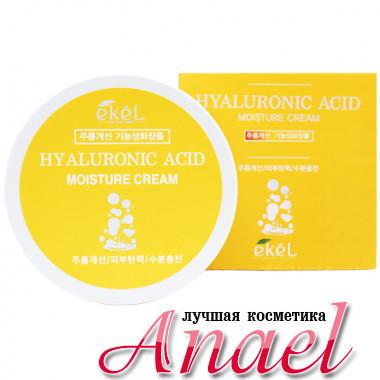 Ekel Интенсивный увлажняющий крем с гиалуроном для лица Hyaluronic Acid Moisture Anti-Wrinkle Intensive Cream (100 гр)