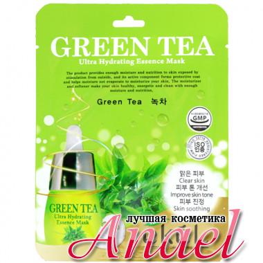 Ekel Ультра-увлажняющая тканевая маска с зеленым чаем для лица Green Tea Ultra Hydrating Essence Mask (1 шт x 25 мл)