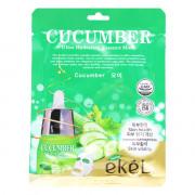 Ekel Ультра-увлажняющая тканевая маска с огурцом для лица Cucumber Ultra Hydrating Essence Mask (1 шт x 25 мл)