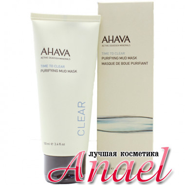 Ahava Очищающая грязевая маска для лица Active Deadsea Minerals Time to clear Purifying Mud Mask (100 мл)