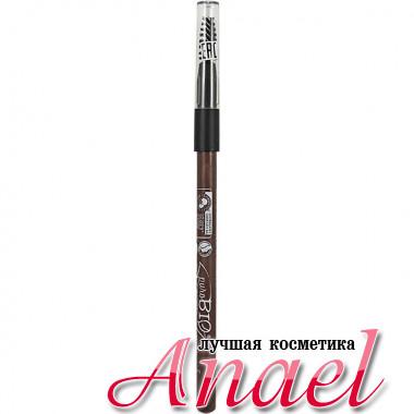 PuroBio Натуральный карандаш для бровей Тон 07 Средне-коричневый Eyebrow Pensil (1,3 гр)