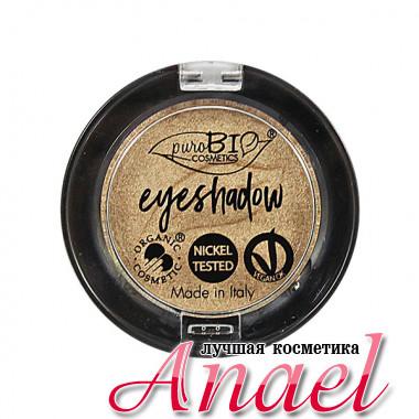 PuroBIO Натуральные одноцветные тени для век Тон 01 «Шампанское» Eyeshadow (2,5 гр)