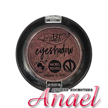 PuroBIO Натуральные тени для век c эффектом хамелеона Тон 15 Розовый/Серый металлик Eyeshadow (2,5 гр)