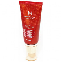 Missha BB-крем M Perfect Cover BB Cream SPF42 PA+++ №21 Светло-бежевый (50 мл)