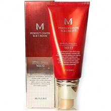 Missha BB-крем Тон 13 Молочно-бежевый M Perfect Cover BB Cream SPF42 PA+++ (50 мл)