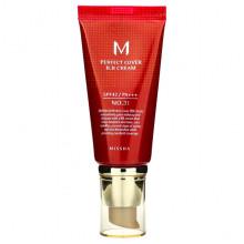 Missha BB-крем Тон 31 Золотисто-бежевый M Perfect Cover BB Cream SPF42 PA+++ (50 мл)