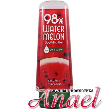 Etude House Успокаивающий гель с 98% экстрактом арбуза Watermelon Soothing Gel (250 мл)
