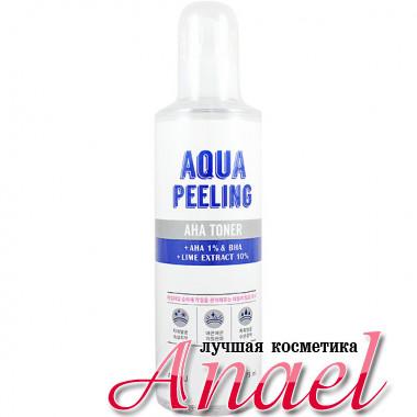 A'Pieu Тонер с AHA/BHA кислотами и экстрактом лайма Aqua Peeling AHA Toner (275 мл)