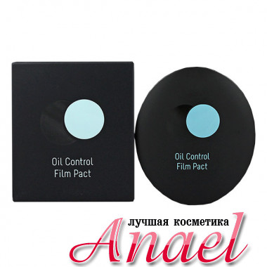 A'Pieu Матирующая компактная пудра тон №3 Небесно-мятный Oil Control Film Pact (11,5 гр)