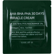 Some By Mi Пробник Чудо-крема с кислотами и экстрактом центеллы AHA-BHA-PHA 30 Days Miracle Cream