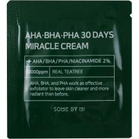Some By Mi Пробник Чудо-крема с кислотами и экстрактом центеллы AHA-BHA-PHA 30 Days Miracle Cream