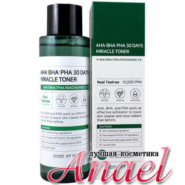 Some By Mi Чудо-тонер-эксфолиант с кислотами AHA-BHA-PHA 30 Days Miracle Toner (150 мл)