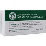 Some By Mi Миниатюра чудо-мыла с кислотами и экстрактом чайного дерева AHA-BHA-PHA 30 Days Miracle Cleansing Bar (30 гр)