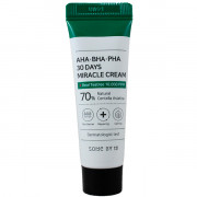 Some By Mi Миниатюра чудо-крема с кислотами и экстрактом центеллы AHA-BHA-PHA 30 Days Miracle Cream (20 гр)