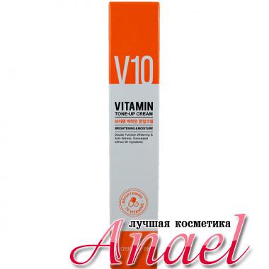 Some By Mi Отбеливающий увлажняющий крем с комплексом витаминов V10 Vitamin Tone-Up Cream Brightening & Moisture (50 мл)